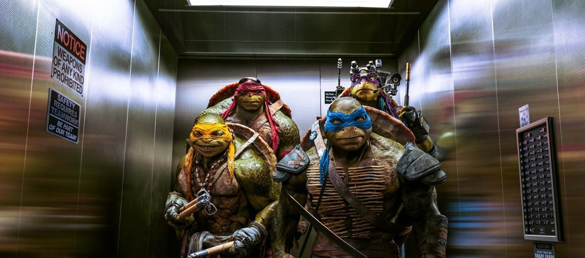 Δωρεάν προσκλήσεις για την ταινία 'Τα Χελωνονιντζάκια 2'